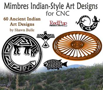 mimbres indian style art designs